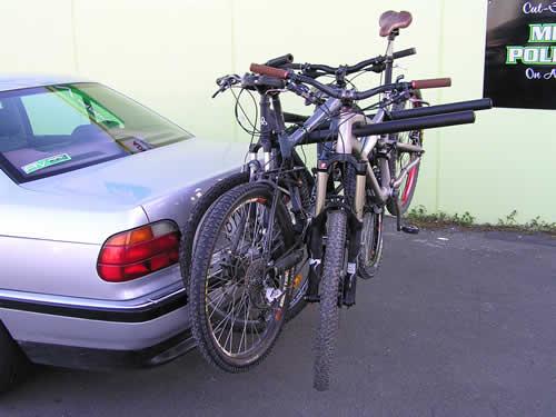 Bike Racks Carriers And Stands Six Bike Fixed Arm Tow